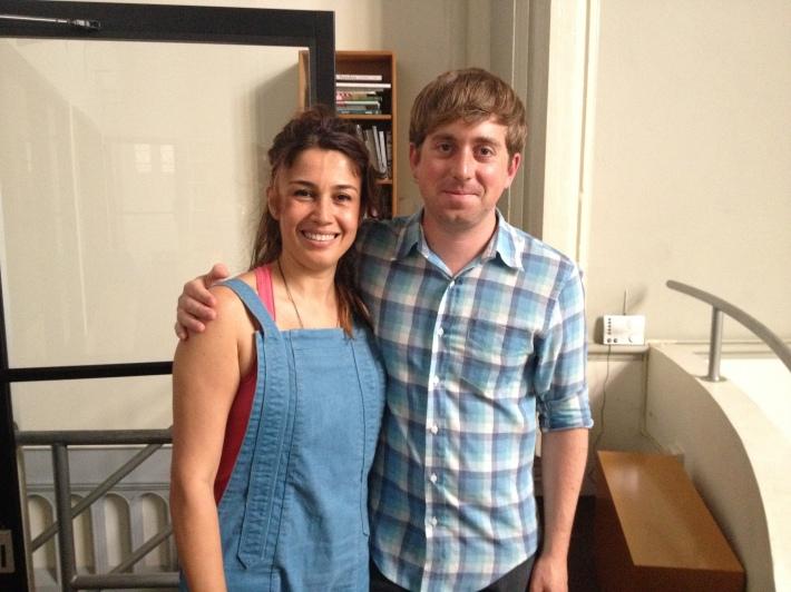 Virginia de Medeiros and Cameron Yates