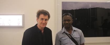 Alfredo Jaar and LucFosther Diop @  Luisa Strina Gallery