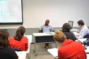LucFosther Diop´s Presentation @ FAAP Campus