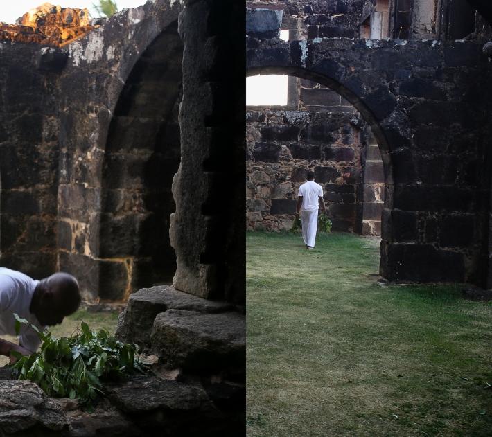 O Sacudimento da Casa da Torre Díptico II _Sacerdotes_2015