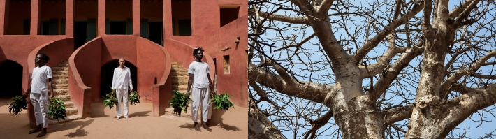 O Sacudimento da Maison des Esclaves em Gorée_Díptico I, 2015